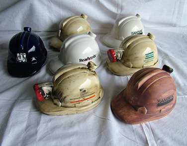 Hard Hats <span>(height 100mm x length 200mm )</span>